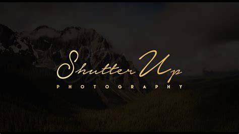 How To Create Own Signature Logo For Photography - YouTube